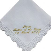 Ladies Wedding Handkerchief
